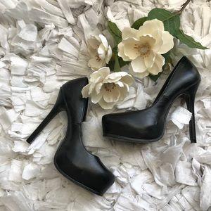 Wet Seal Black High heels
